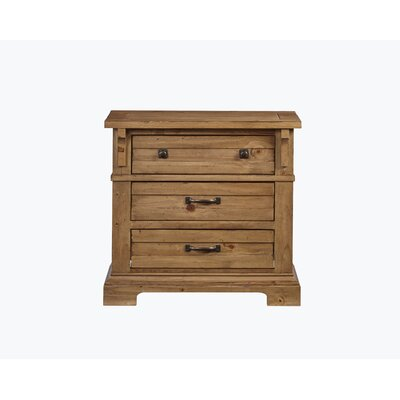 Rhian 3 Drawer Night Stand