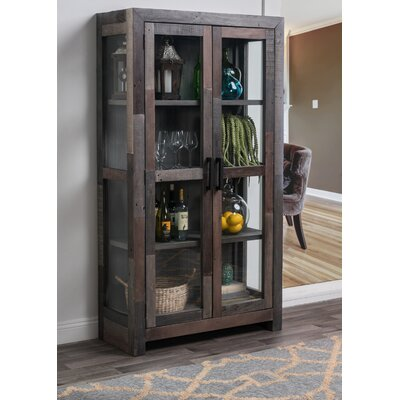 Norman Curio Cabinet Finish: Storm