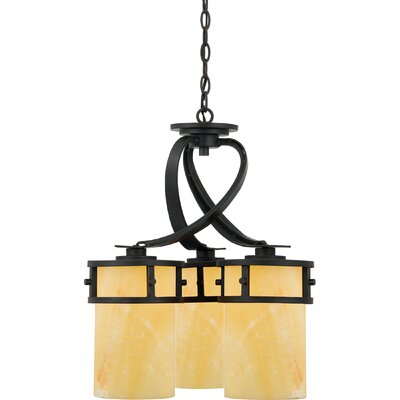 Colby 3-Light Shaded Chandelier