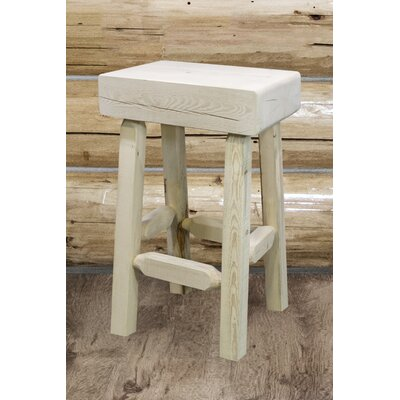 Abella 24 Square Bar Stool Finish: Ready to Finish