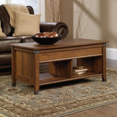 Newdale Lift Top Coffee Table Color: Washington Cherry
