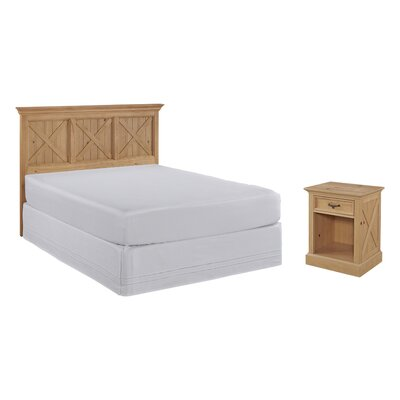 Burbury Country Lodge Panel 2 Piece Bedroom Set Size: Queen