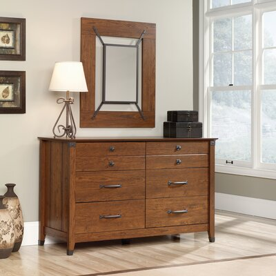 Newdale 6 Drawer Dresser Color: Cherry