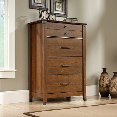 Newdale 4 Drawer Chest Color: Cherry