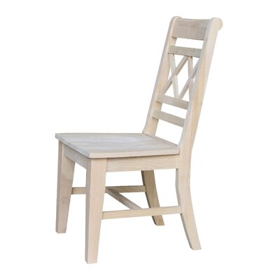 San Jose Solid Wood Dining Chair Finish: Unfinished