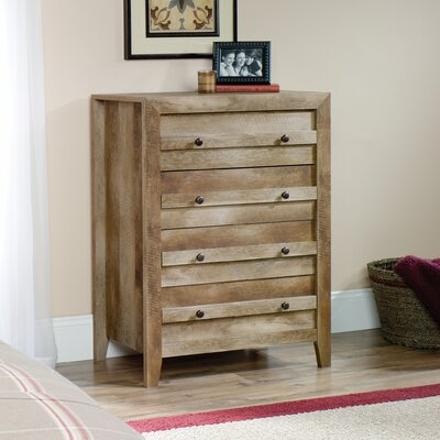 Signal Mountain 4 Drawer Chest Color: Craftsman Oak