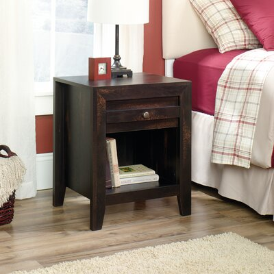 Signal Mountain 1 Drawer Nightstand Finish: Char Pine