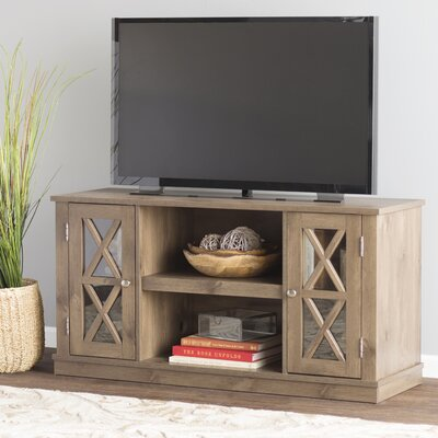 Emelia 47.5 TV Stand Color: Pine, Fireplace Included: No