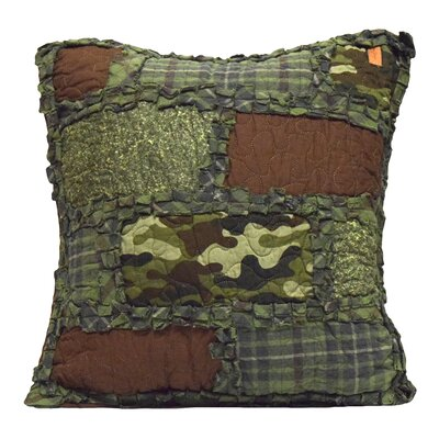 Corto 100% Cotton Throw Pillow