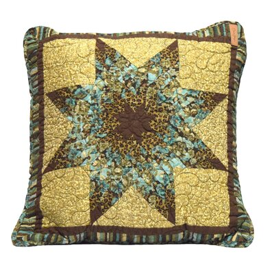 Abra Cotton Square Throw Pillow