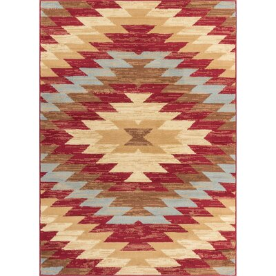 Binstead Southwestern Area Rug Rug Size: Rectangle 82 x 910