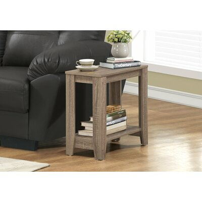 Jalen End Table Color: Dark Taupe
