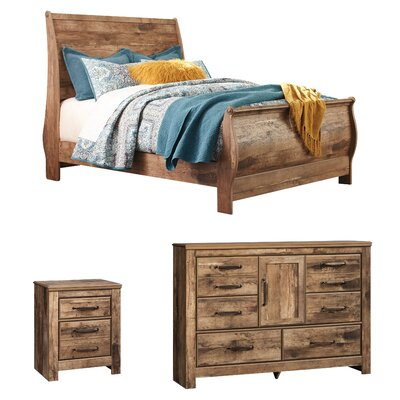 Frye Sleigh Configurable Bedroom Set