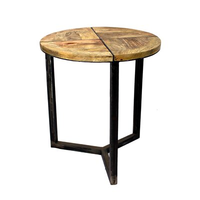 Asaro Disstressed End Table