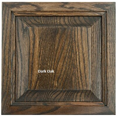 Glastonbury 41.3 TV Stand Door Type: Wood Panel, Color: Dark Oak
