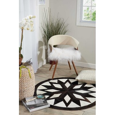 Arcata White/Brown Area Rug