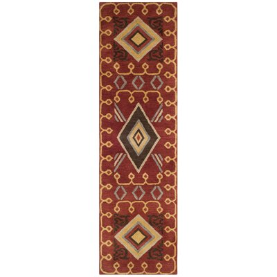 Boyd Hand-Tufted Multi-Color Area Rug Rug Size: Runner 23 x 6