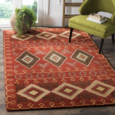 Boyd Hand-Tufted Multi-Color Area Rug Rug Size: Rectangle 3 x 5