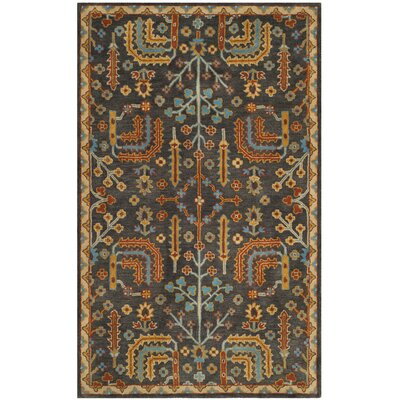 Boyd Hand-Tufted Multi-Color Area Rug Rug Size: Rectangle 6 x 9