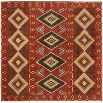 Boyd Hand-Tufted Multi-Color Area Rug Rug Size: Square 8