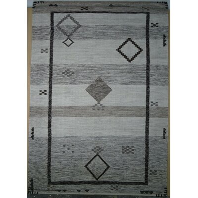 Cahone Egret/Moon Rock Area Rug Rug Size: 5 x 8