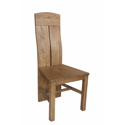 Kiazolu Solid Wood Dining Chair Color: Golden Oak