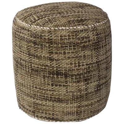 Jack Textures Pouf Upholstery: Mocha