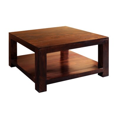 Dorsey Coffee Table Wood Color: Dark Walnut