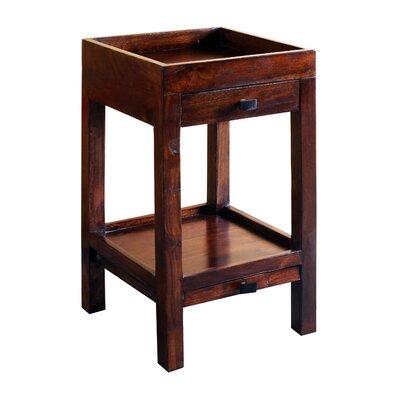 Docia End Table Wood Finish: Dark Walnut
