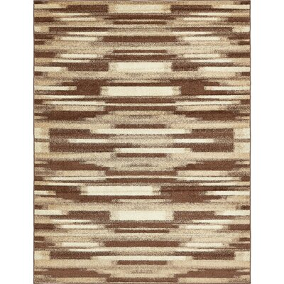 Cotati Brown Area Rug Rug Size: Rectangle 8 x 10