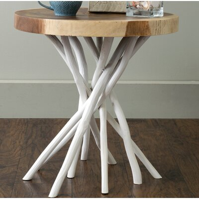 Stilwell End Table Color: White
