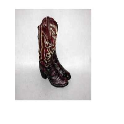 Gloska Cowboy Boot 1 Bottle Tabletop Wine Rack