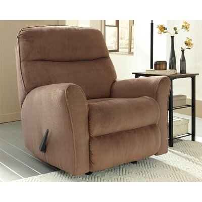 Beldibi Manual Rocker Recliner Upholstery: Cocoa