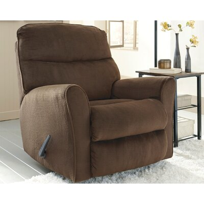 Beldibi Manual Rocker Recliner Upholstery: Chocolate