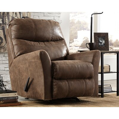 Belfin Manual Rocker Recliner Upholstery: Coffee
