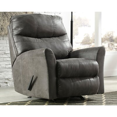 Belfin Manual Rocker Recliner Upholstery: Slate