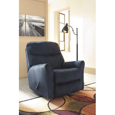 Beldibi Manual Rocker Recliner Upholstery: Midnight
