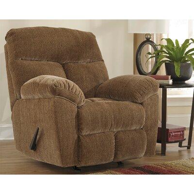 Bannack Rocker Recliner Upholstery: Caramel
