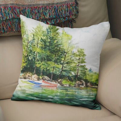 Antonella Throw Pillow Size: 18 H x 18 W x 6 D