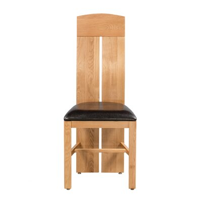 Kiazolu Upholstered Dining Chair Frame Color: Natural Oak