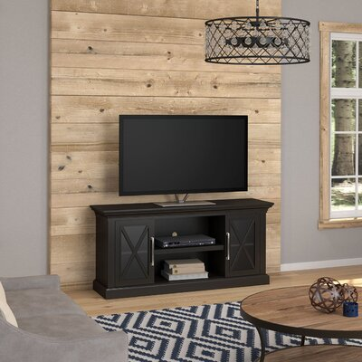 Fischer 53.8 TV Stand Color: Black