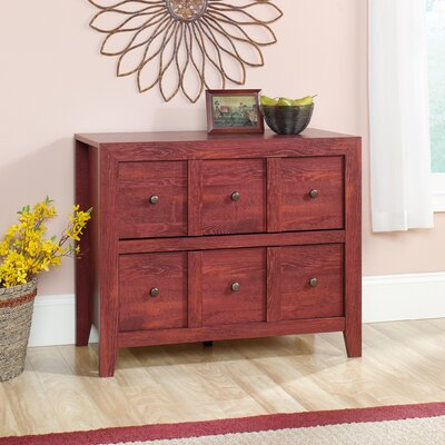Signal Mountain 38 TV Stand Color: Fiery Pine
