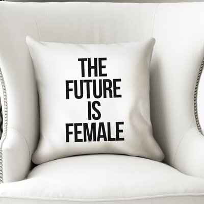 Etna Female Indoor/Outdoor Throw Throw Pillow Size: 18 H x 18 W x 8 D