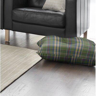 Hogan Plaid Indoor/Outdoor Floor Pillow Size: 26 H x 26 W x 8 D