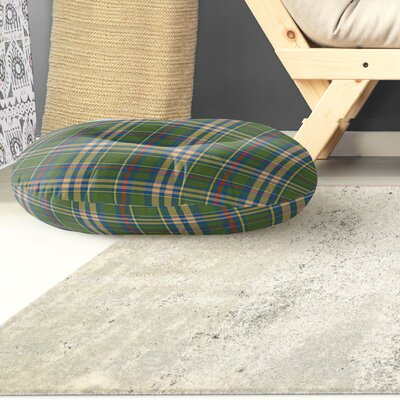 Hogan Plaid Indoor/Outdoor Floor Pillow Size: 26 H x 26 W x 8 D