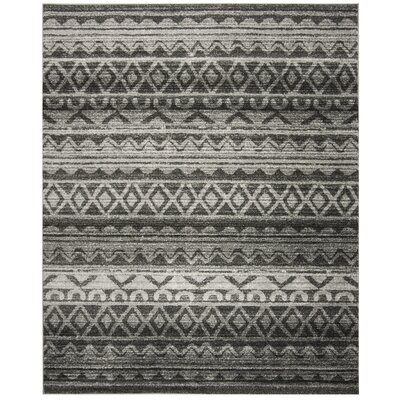 St. Ann Highlands Ivory/Charcoal Area Rug Rug Size: Rectangle 8 x 10