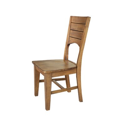 San Jose Solid Wood Dining Chair Finish: Pecan