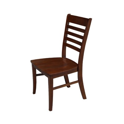 Bezons Solid Wood Chair Finish: Espresso