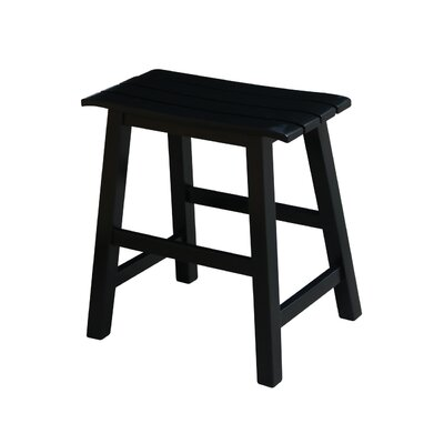 Princetown 18.25 Bar Stool Finish: Black