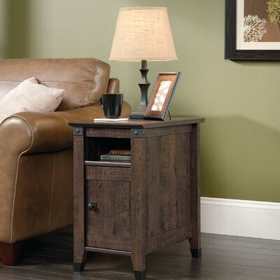 Newdale End Table With Storage Color: Coffee Oak